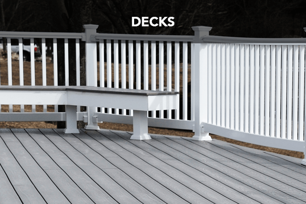 contrast painted deck