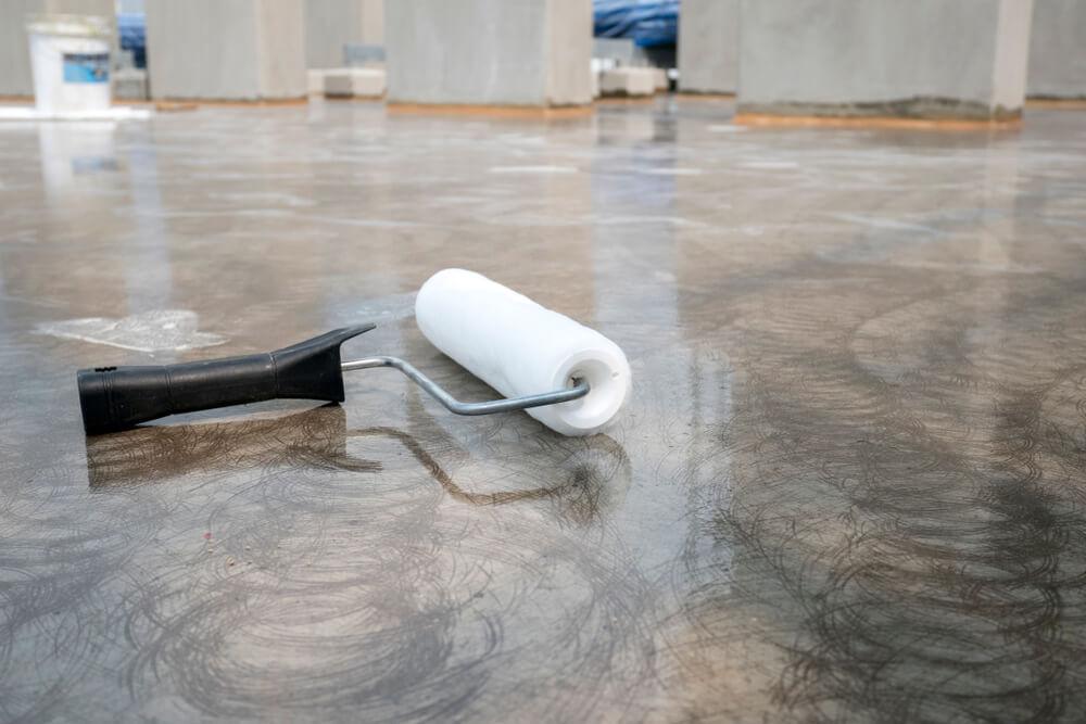 gloss epoxy garage floor coating